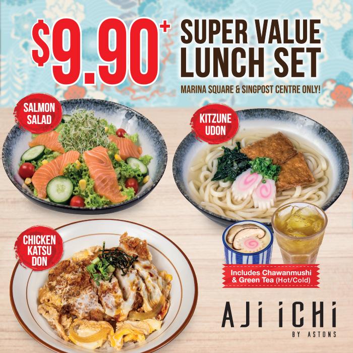AJI ICHI Set Lunch 2020 (MSQ & SPC) Square