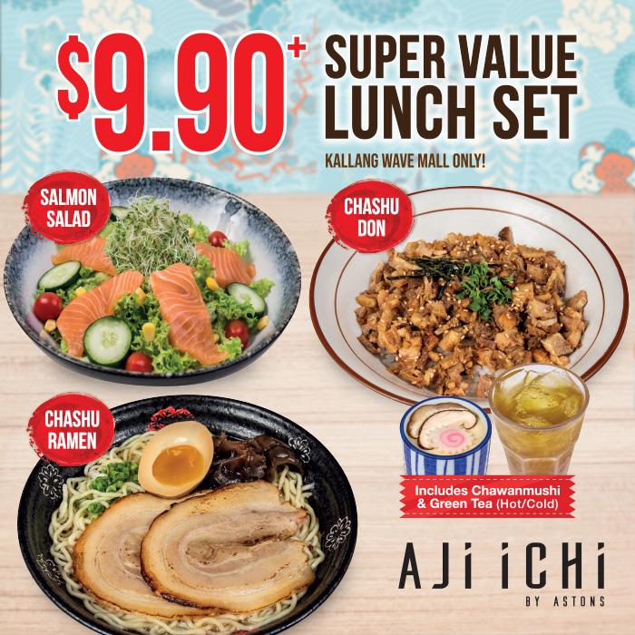 AJI ICHI Set Lunch 2020 (SHB) Square